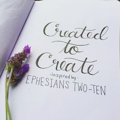 Sketchbook lettering. a hand lettered quote inspired by a bible verse. handmade fonts are one step towards illustrated faith and bible journaling