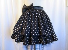 Pretty in Dots mini skirt by Little Macaron