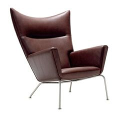Rove Concepts Hans Wegner Wing chair is a high end premium reproduction true to original specifications. Find out why Rove Concepts is one of the leading companies for designer furniture. Wing Chair, Sofa Chair, Armchair, Cool Furniture, Modern Furniture, Furniture Design, Mid Century Furniture, Chair Design, Decoration