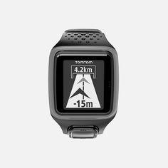 TomTom - Runner GPS Watch Vehicle Tracking System, Gps Tracking, Triathlon, Car Tracker, Car Storage, Wearable Technology, Running Gear, Gps Navigation, Training