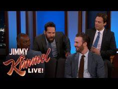 Jimmy Kimmel Live: Anthony Mackie Drops Productivity By 10%