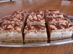 Vlašské orechy či mandle, pri pečení sú osvedčené. Tiramisu, Dessert Recipes, Food And Drink, Cooking, Ethnic Recipes, Sweet, Gardening, Sheet Cakes, Bakken
