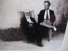 """A principios del XX  para los pensadores españoles  europeistas España debía """"europeizarse"""". En su libro """"Del sentimiento trágico de la vida"""" Unamuno propone lo contrario. La réplica de Ortega fue """"Meditaciones del Quijote""""."""