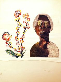 Benny Andrews, 'Woman,' 1975, Bill Hodges Gallery