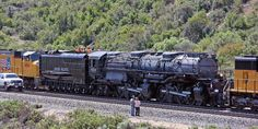 Just a car guy : the 4014 Union Pacific Big Boy heading for an ...