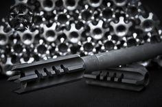 http://www.evotechcorp.com  The CQB Assassin hybrid #muzzle device for #AR15 #AR 15 #AR-15 #tactical #rifle