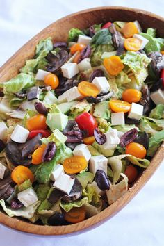 This Rawsome Vegan Life: salad, salad, salad: the main meal
