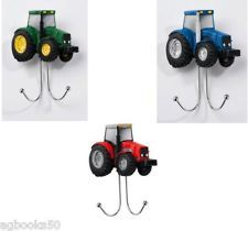 tractor bed for toddlers   Tractor Coat Double Hook Country Farm Red Green or Blue Boyl Bed Room ...
