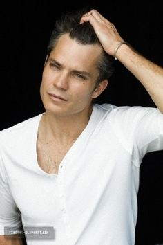 Timothy Olyphant -- never knew who he was and saw him on Ellen last week. He made me LAUGH! And he's handsome ;)