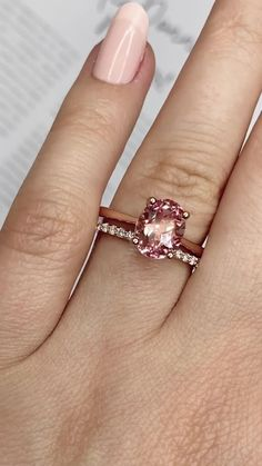 Dream Engagement Rings, Gemstone Engagement Rings, Solitaire Engagement, Lab Created Diamonds, Lab Diamonds, Sapphire Gemstone, Sapphire Rings, Diamond Rings, Pink Stone Rings