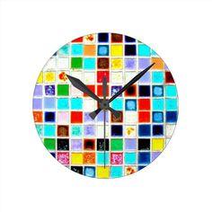 Clocks-Misc/Abstract-Mosaics 4
