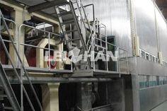 paperpulpmachinery: Unbleached Kraft Paper Making Line