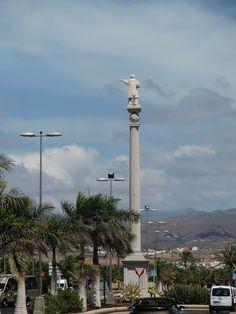 Desde las Islas Canarias  ..Fotografias  : Arte en las Calles Escultura a Cristobal Colon en ...