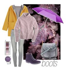 """""""rainy days"""" by natalyapril1976 on Polyvore featuring Spring Step, Paige Denim, J.Crew, Chloé, Simplify, Clinique and ShedRain"""