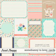 Somebunny to Love: Cards by Amber Shaw