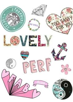 tumblr overlays transparent collage - بحث Google Tumblr Stickers, Phone Stickers, Diy Stickers, Planner Stickers, Printable Stickers, Overlays, Image Swag, Tumblr Transparents, Girly Pictures