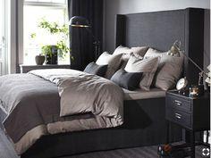Stockholm Vitt - Interior Design: Back in Business! Serene Bedroom, Bedroom Inspo, Beautiful Bedrooms, Home Decor Bedroom, Master Bedroom, Paint Colors For Living Room, Dream Rooms, House Rooms, New Room
