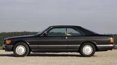 Mercedes 560 SEC, with hindsight now looking rather elegant