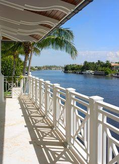 Tropical Porch X Railing