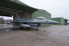 Belgian Air Force General Dynamics F-16 Fighting Falcon.