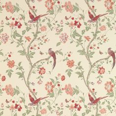 Summer Palace Grape Wallpaper at Laura Ashley Bedroom Wallpaper Flowers, Floral Print Wallpaper, Flower Wallpaper, Pattern Wallpaper, Floral Prints, Laura Ashley, Grape Wallpaper, Gold Wallpaper, Wallpaper Ideas