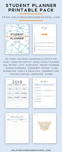22 Best Homeschool - Student Planner images Homeschool student