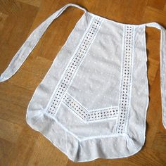 antique french lace apron vintage French antique by minoucbrocante, €35.00