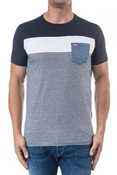 Camisetas, t-shirts, polos y tops | Camiseta con mezcla de estampados | Salsa