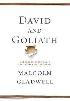 """The Speakeasy Book Club is reading """"David and Goliath"""" by Malcolm Gladwell. Discussion will be held at the Seasons 52 restaurant by the Mall in Columbia on April 22 at 6pm."""