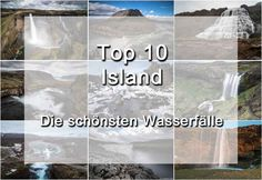 Die 10 schönsten Wasserfälle auf Island