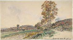 Johan Barthold Jongkind | Road near La Côte-Saint-André | The Metropolitan Museum of Art