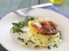 Ziegenkäse-Soufflee mit Schnittlauch ist ein Rezept mit frischen Zutaten aus der Kategorie Käse. Probieren Sie dieses und weitere Rezepte von EAT SMARTER!