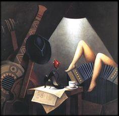 Tango argentino en imágenes surreales -