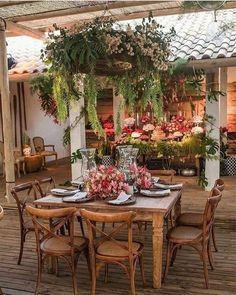 Outdoor Cooking Area, Outdoor Dining Set, Outdoor Rooms, Outdoor Living, Outdoor Decor, Patio Dining, Outdoor Plants, Dining Table, Gazebos