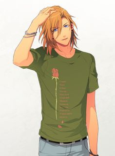 Why is Ren so cute???? And why can't real boys be like him??