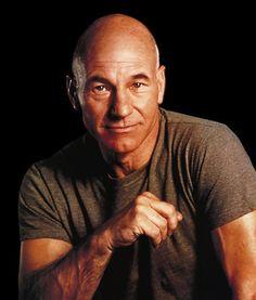 Patrick Stewart....hot older men! New board. Older Men. I have always loved older men, even when I was 20.