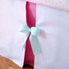 super cute bed skirt