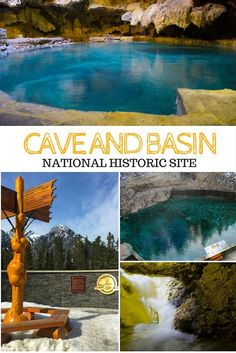 A trip to the historic Cave and Basin National Historic Site (with its turquoise… Banff Canada, Alberta Canada, Yoho National Park, National Parks, Spring Activities, Banff Activities, The Places Youll Go, Places To See, Canadian Travel