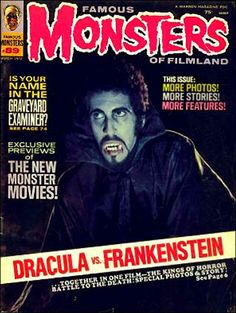 Famous Monsters of Filmland - issue #89 - 1972