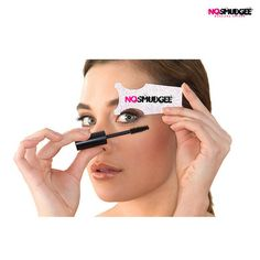 10-Pack: NOSMUDGEE® Mascara Shields at 75% Savings off Retail!