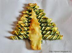.printre nori: Placinta cu spanac - un bradut comestibil :) Nori, Sushi, Ethnic Recipes, Sushi Rolls