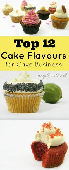 12 Most Popular Cake Flavours | What are the best selling cake flavours or most popular in a sweet business
