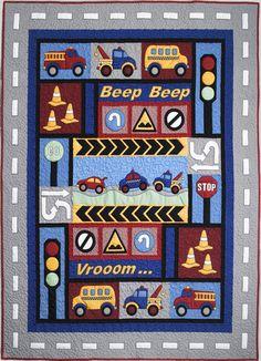Kids Quilts - Traffic Jam Pattern