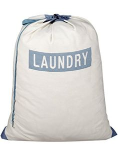 Pro-Mart DAZZ Laundry Print Bag with Carry Handle, Beige ❤ Pro-Mart