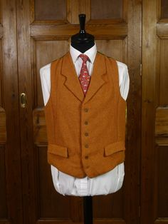 A couple of our good friends in the vintage world have come up with these wonderful 'new' vintage country waistcoats. Made from genuine 1950s & 1960s vintage Harris Tweed cloth, combined with quirky satin linings and wooden buttons, they are deliberately rustic and perfect for country pursuits and 1930s 1940s revivals. £95-£115.