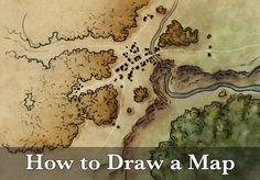 Fantasy maps and mapmaking tutorials by Jonathan Roberts