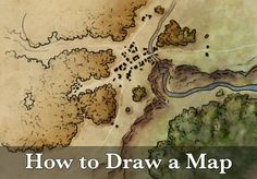 Fantasy maps and mapmaking tutorials by Jonathan Roberts