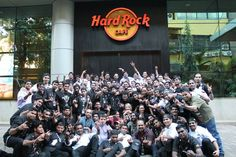 WOOT WOOT !! We are thrilled to announce that Hard Rock Cafe Andheri is officially OPEN NOW  Congratulations to the entire team, our fans, artists, friends, family, and each one of you. This would have been incomplete without your love and support. Ready to ROCK? \m/