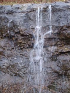 waterfall -the water flows like God's love