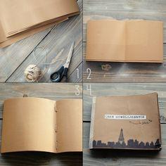 DIY Instagram boekje! Zo tof om niet alleen zelf de foto's in te plakken, maar ook het boekje from scratch te maken.